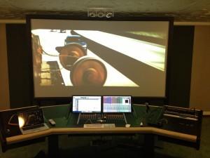 Eindmix Chase scene in de studio